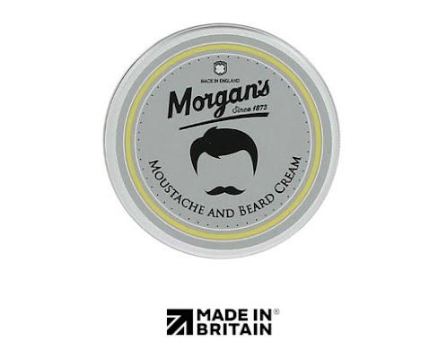 Крем для бороды и усов Morgan's.