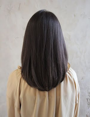 Фарбування в 1 тон/ тонування (Без освітлення) ДО ПОЯСА (до 60 см) негусте волосся