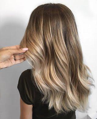 Складна техніка фарбування ДО ПОЯСА (до 60 см) густе волосся