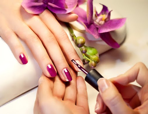 Manicure with gel coating