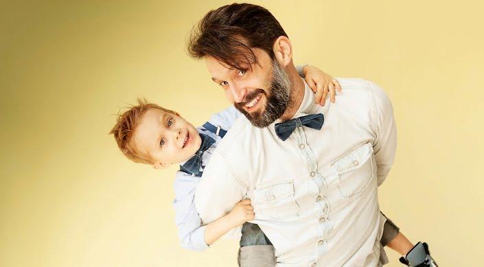 Стрижка батько+син   Молодший барбер