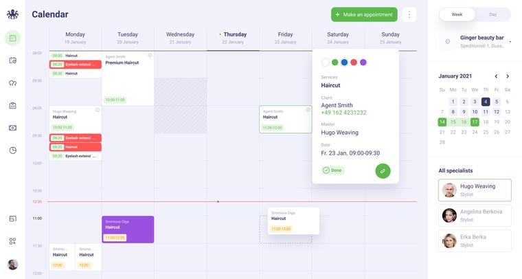 EasyWeek Calendar